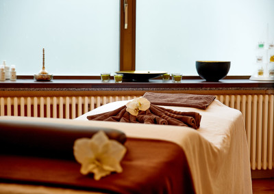 Massageraum im RÜLAX Beauty & SPA - Cliff Hotel Rügen